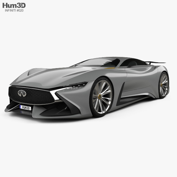 Infiniti Vision Gran Turismo 2014 3D-Modell
