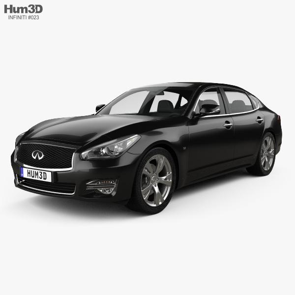 Infiniti Q70 L 2015 3D model