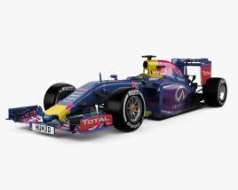 3D model of Infiniti RB11 F1 2015
