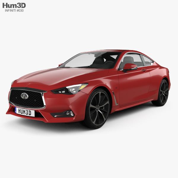 Infiniti Q60 S 2017 3D model