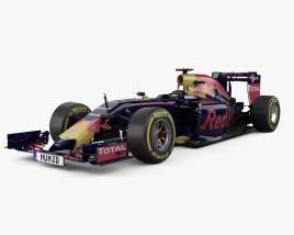 3D model of Infiniti RB12 F1 2016