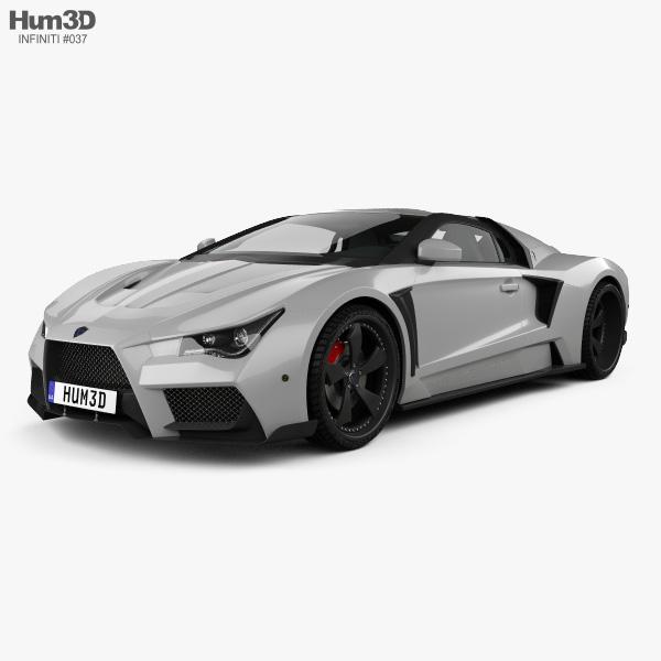 Vaydor G35 2014 3D model