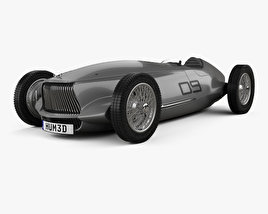 3D model of Infiniti Prototype 9 2017