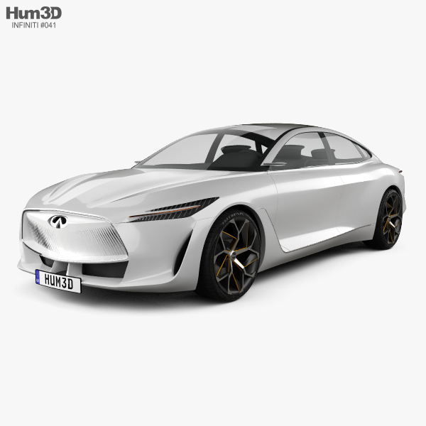 Infiniti Q Inspiration 2018 3D model