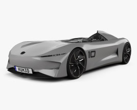3D model of Infiniti Prototype 10 2018