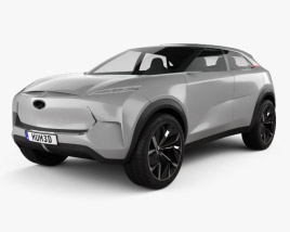 3D model of Infiniti QX Inspiration 2019