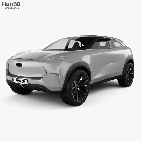 3D model of Infiniti QX Inspiration 2019