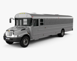 3D model of International Durastar Correction Bus 2007
