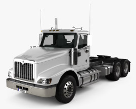 3D model of International PayStar Tractor Truck 2002