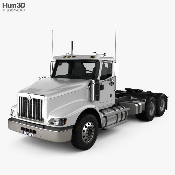 International PayStar Tractor Truck 2002 3D model