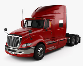 3D model of International ProStar Tractor Truck 2009