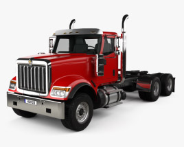 3D model of International HX520 Tractor Truck 2016