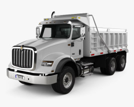 International HX615 Tipper Truck 2016 3D model