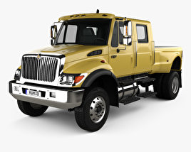 3D model of International CXT Pickup Truck 2005