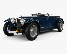 3D model of Invicta S-Type 1931