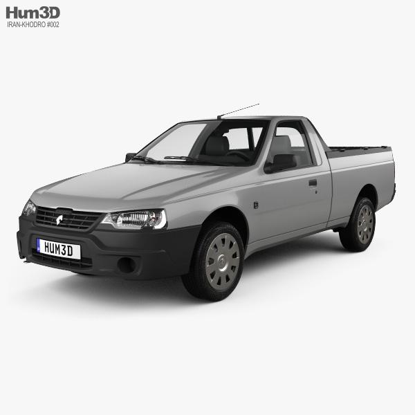 3D model of Iran Khodro Arisun 2015