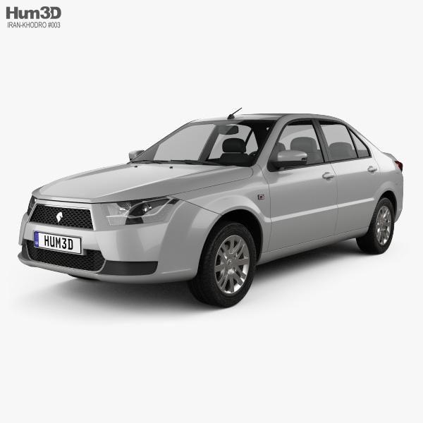 3D model of Iran Khodro Dena 2015