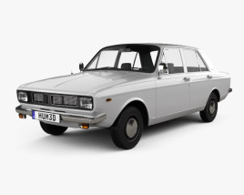 3D model of Iran Khodro Paykan 1967