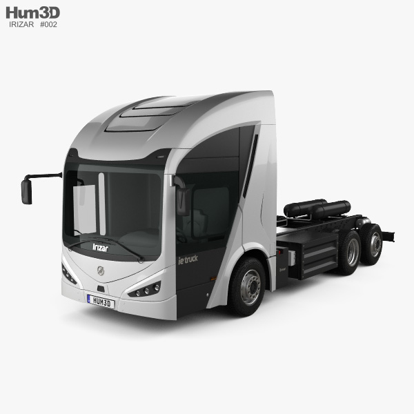 Irizar IE Truck Chassis Truck 2019 3D model