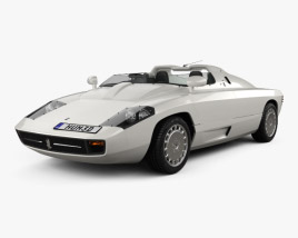 3D model of Isdera Spyder 036i 1988