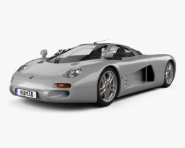 3D model of Isdera Silver Arrow C112i Prototype 1999