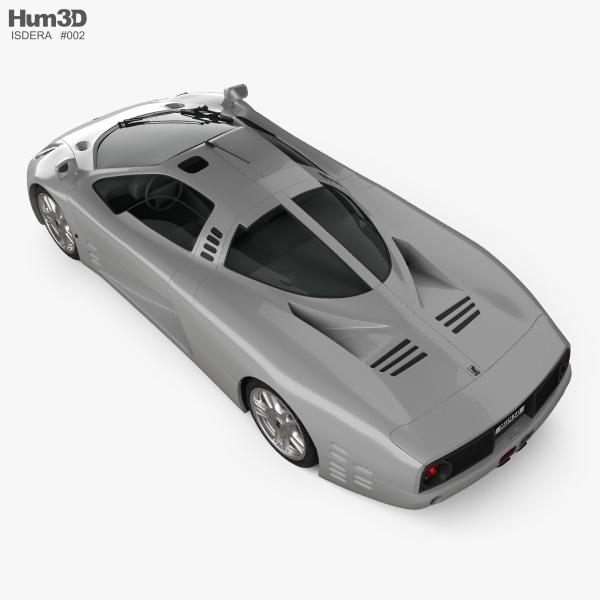 Isdera Silver Arrow C112i Prototype 1999 3D model