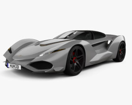3D model of Iso Rivolta Vision Gran Turismo 2017