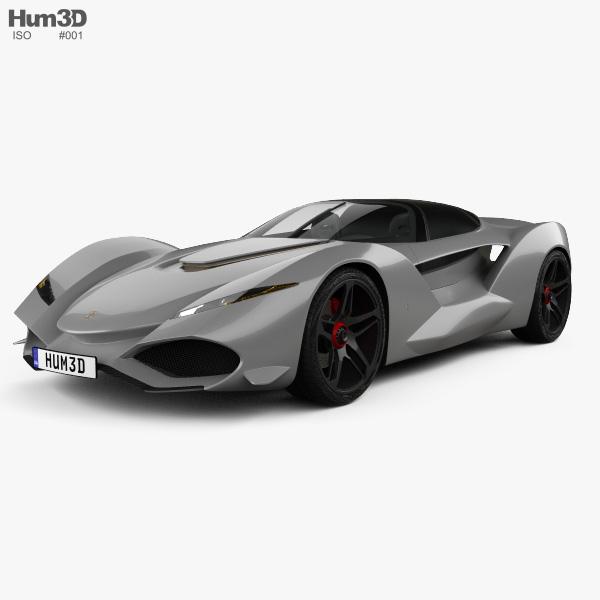 Iso Rivolta Vision Gran Turismo 2017 3D-Modell
