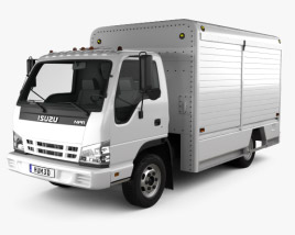 3D model of Isuzu NPR Beverage 2011