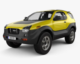 3D model of Isuzu VehiCROSS 1999
