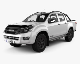 3D model of Isuzu D-Max Double Cab Blade 2014