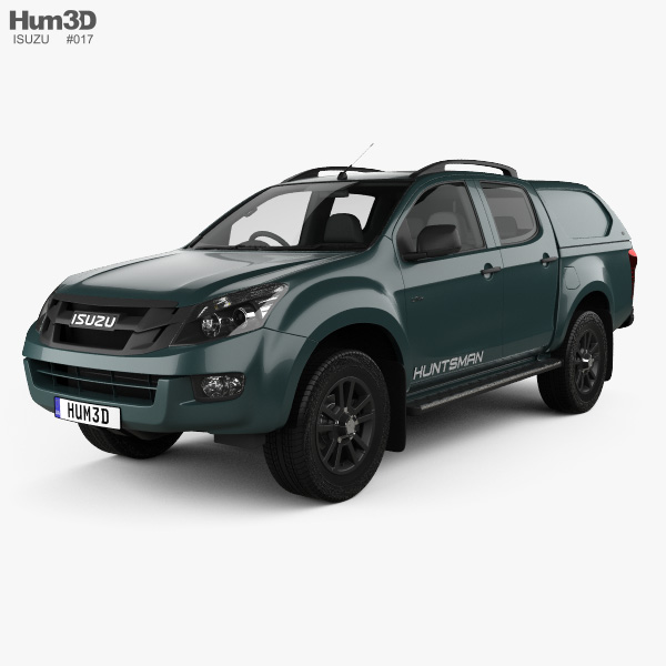 Isuzu D-Max Double Cab Huntsman 2014 3D model