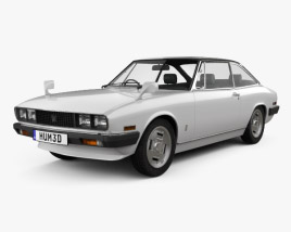 3D model of Isuzu 117 (PA90) Coupe 1977