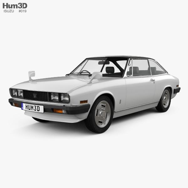 3D model of Isuzu 117 (PA90) Coupe 1977