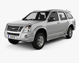 3D model of Isuzu MU-7 2011