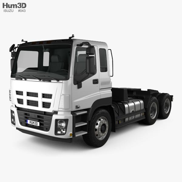 Isuzu Giga Max Tractor Truck 2010 3D model