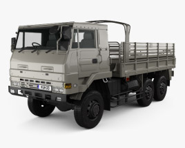 3D model of Isuzu SKW 475 M 1999