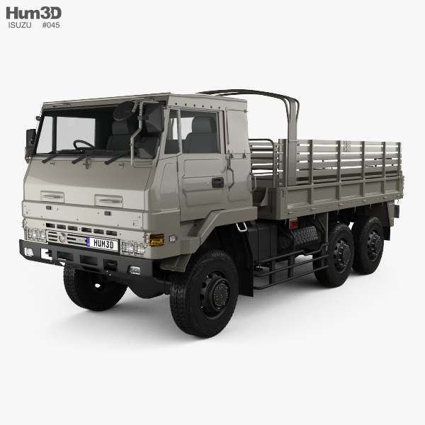 Isuzu SKW 475 M 1999 3D model