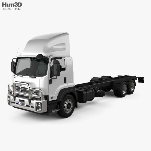 Isuzu FXY Chassis Truck 2017 3D model
