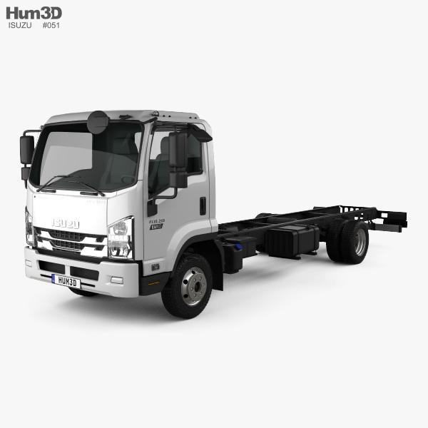 Isuzu Forward Chassis Truck 2017 3D model