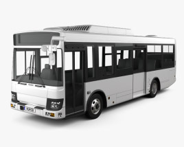 3D model of Isuzu Erga Mio L1 Bus 2019