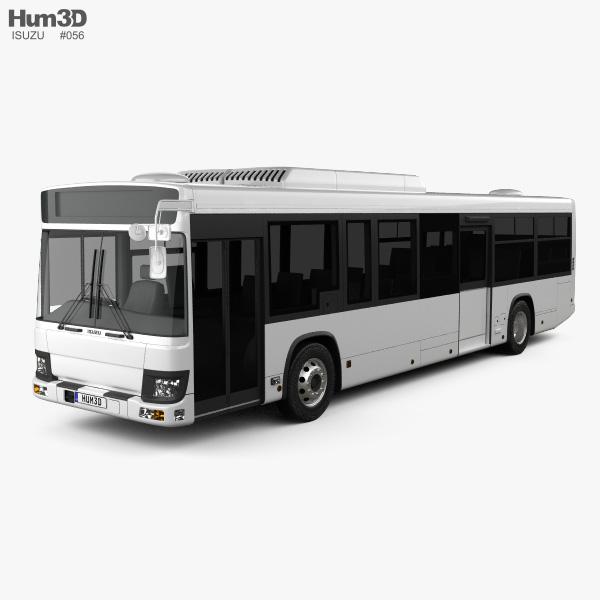 Isuzu Erga Mio L3 Bus 2019 3D model