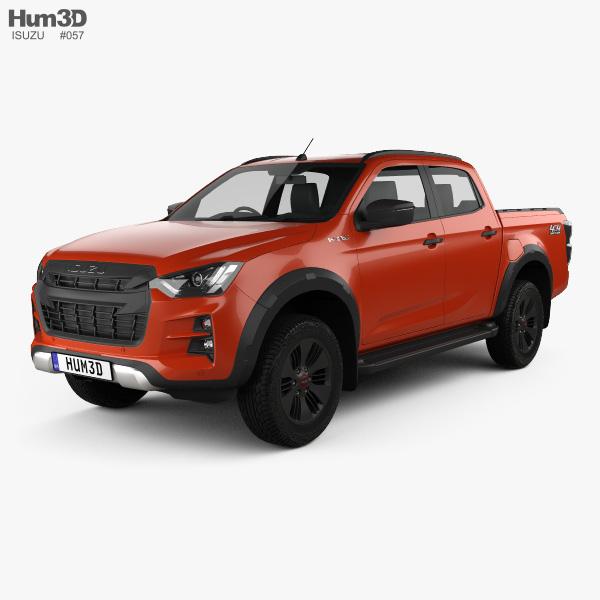 Isuzu D-Max Double Cab Vcross 4x4 2020 3D model