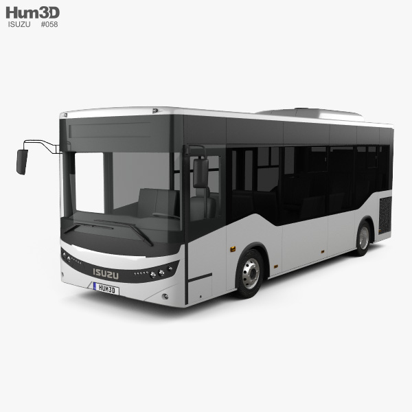 Isuzu Novociti Life Bus 2018 3D model
