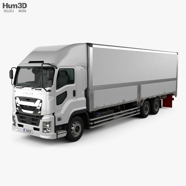 Isuzu Giga Box Truck 2015 3D model
