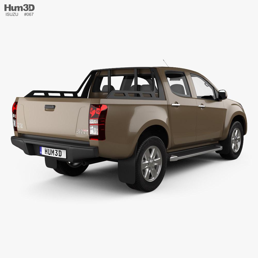 Isuzu Lingtuo 2018 3d model