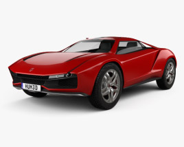 3D model of Italdesign Giugiaro Parcour 2013