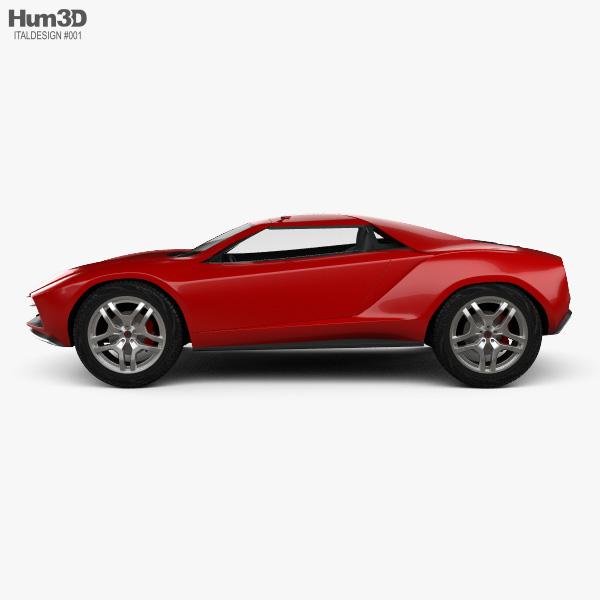 Italdesign Giugiaro Parcour 2013 3D model