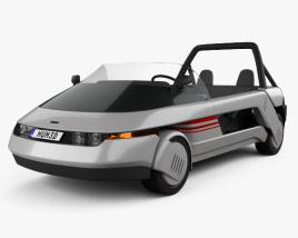 3D model of Italdesign Machimoto 1986