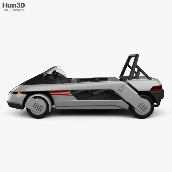 Italdesign Machimoto 1986 3D model